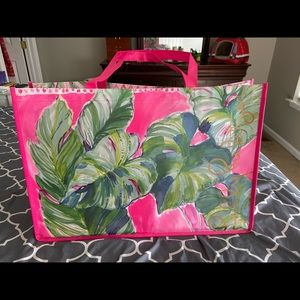 Lilly Pulitzer large reusable tote bag